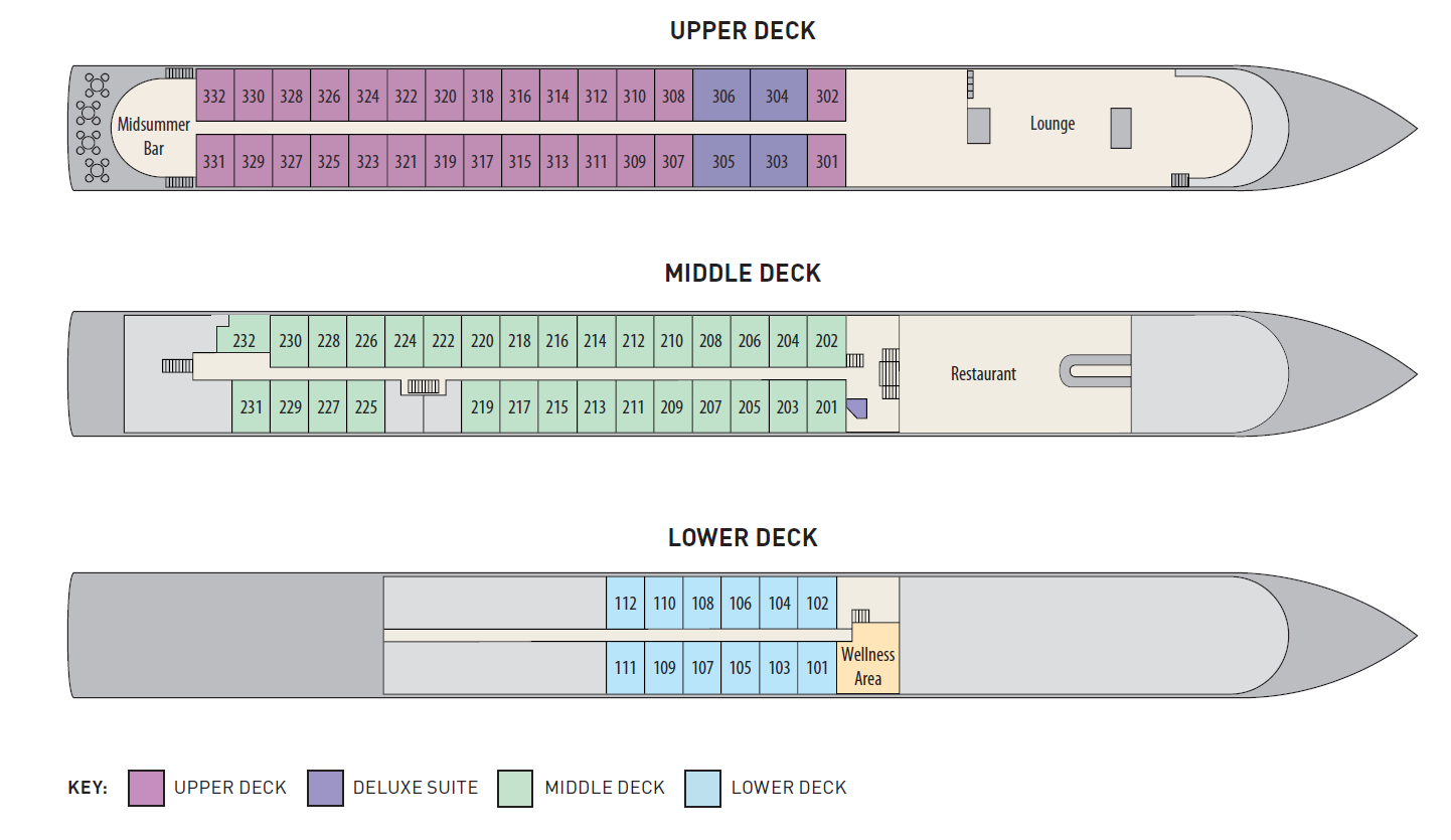 Charles Dickens Deck Plans Riviera Travel Go Cruise