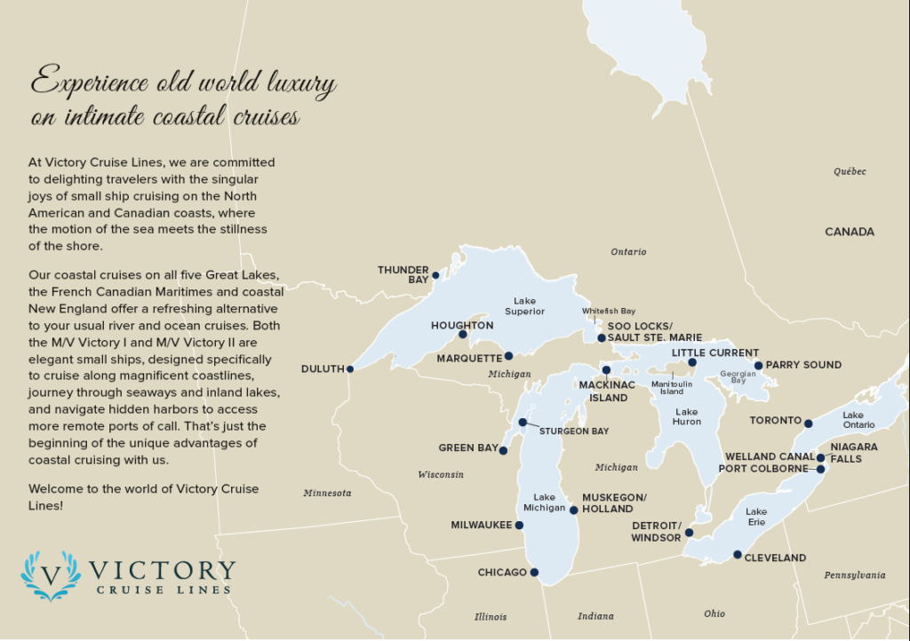Great Lakes cruises along Americas five great lakes | Go Cruise Club