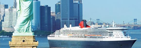 Iconic trans-Atlantic voyages to New York