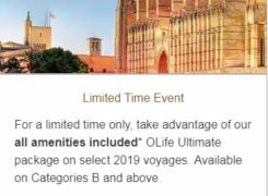 Oceania Cruises special event